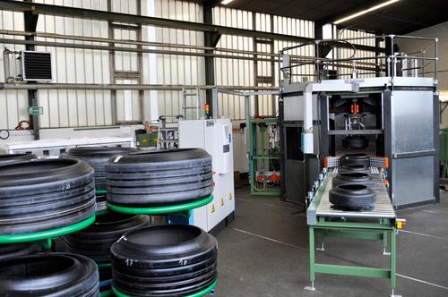 Green Tyre Spraying Systems- Ilmberger Maschinen- und